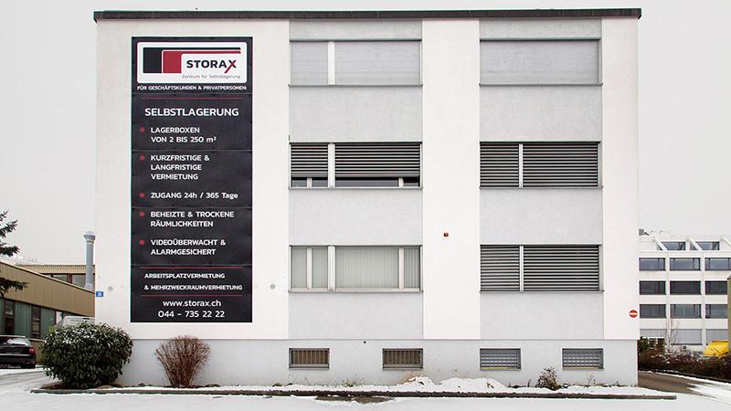 Selfstorage Urdorf, Steinackerstrasse